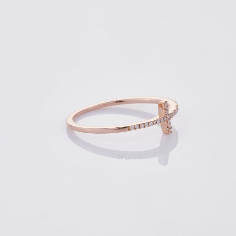 Delicate Cross Ring 030