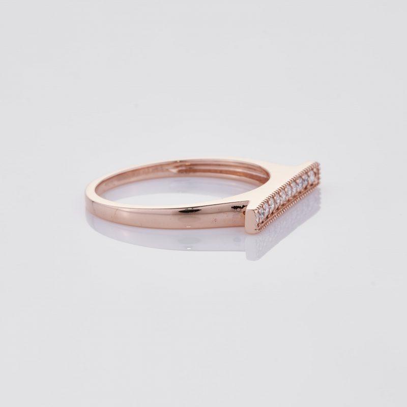 Line of fine Diamonds Ring 030