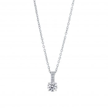 Solitaire Diamond Pendan 001t