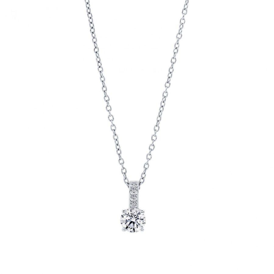 Solitaire Diamond Pendan 001t